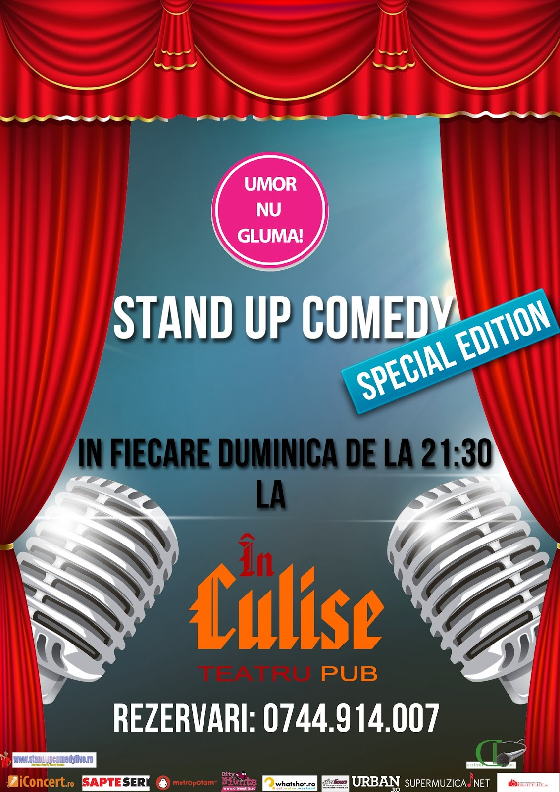 stand up comedy duminica