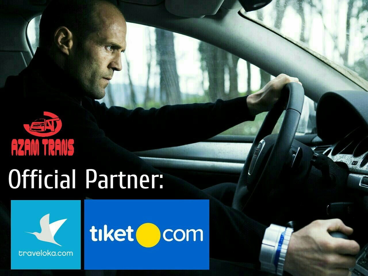 Official Partner Traveloka dan Tiket.com