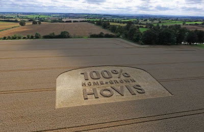 Crop Circles Advertising Seen On www.coolpicturegallery.us