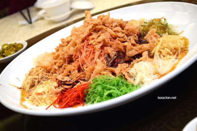 Barbeque Lamb Yee Sang