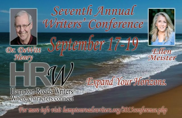 Hampton Roads Writers' Conference:  Sep 17-19