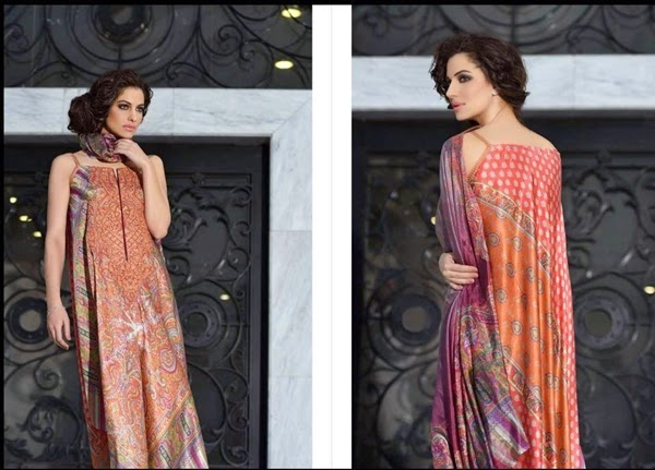 Sobia Nazir Silk 2014-2015 for Winter