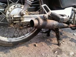 Sepeda Motor Knalpot Bising Bakal Kena Tilang