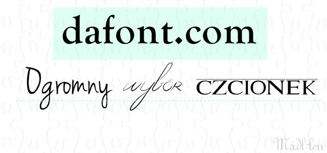 dafont.com, ogromny wybór czcionek