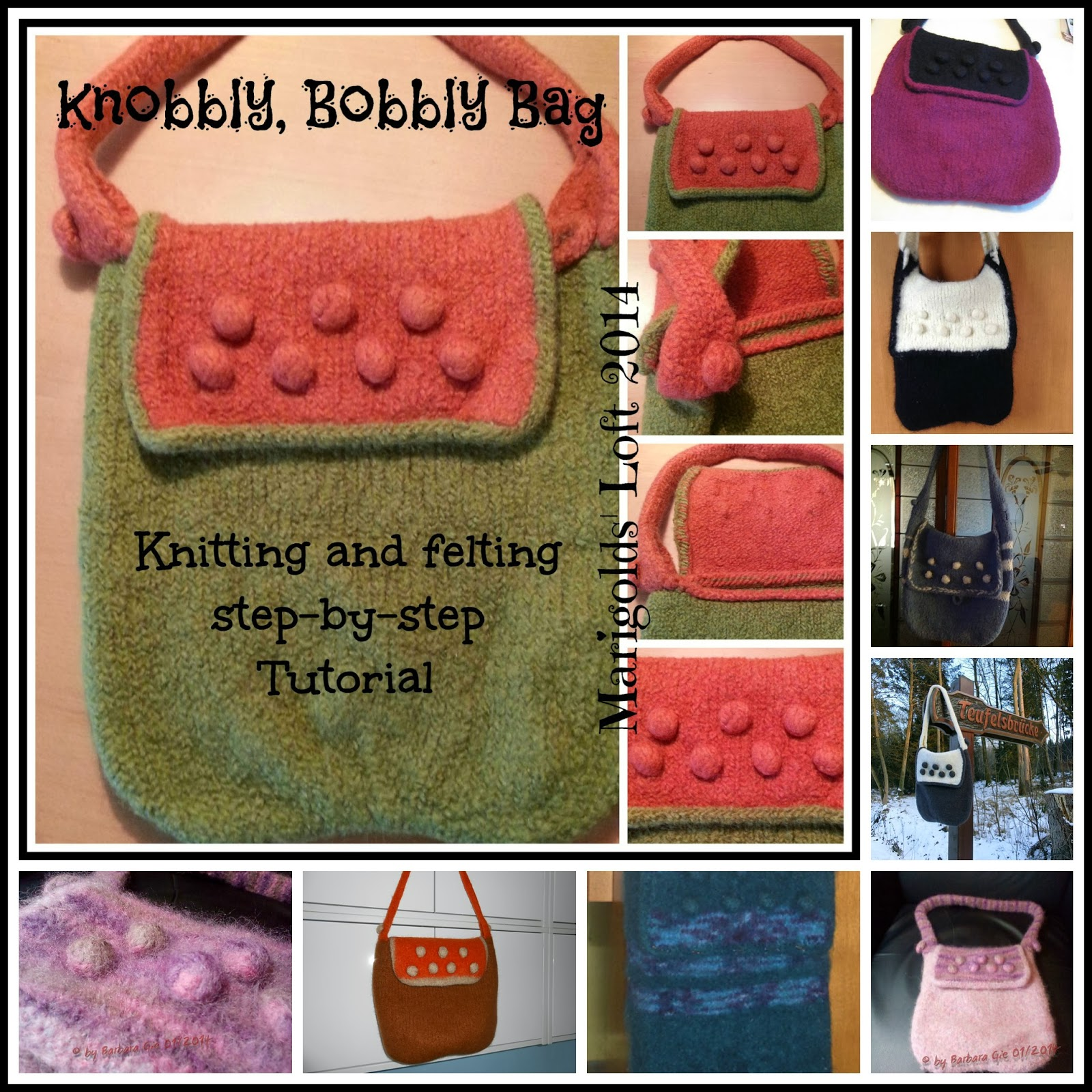 knobbly, bobbly bag