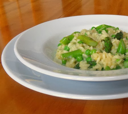 One Perfect Bite: Spring Vegetable Risotto