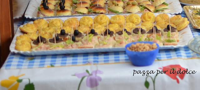 Pazza per il dolce un buffet da ricordare for Idee buffet comunione