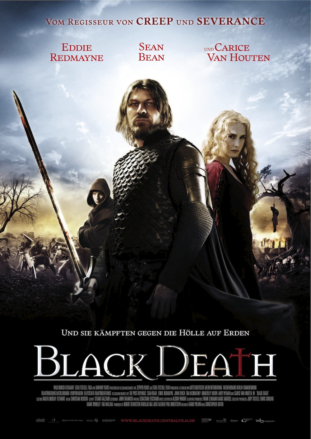 Ver Película Garra negra (Black death) Online (2010)