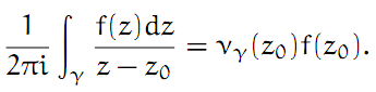 Complex Analysis: #12 Index of a Point with Respect to a Closed Path equation pic 6