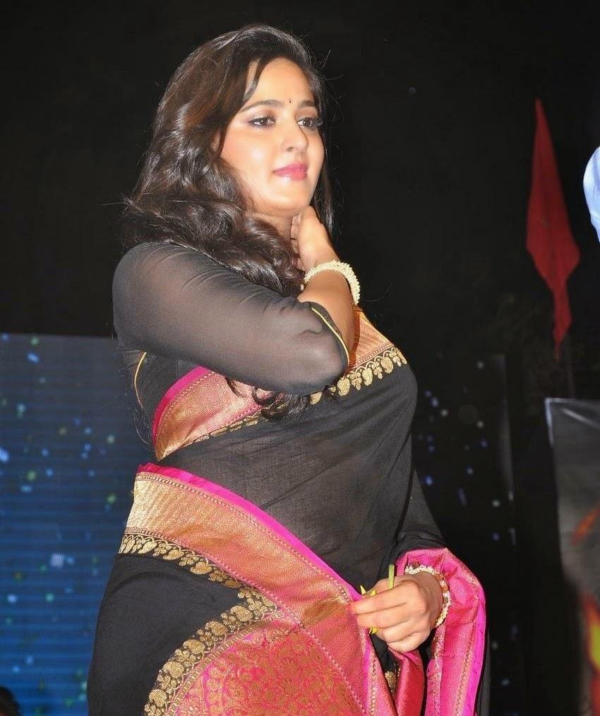 Anushka Shetty latest stills at Rudramadevi Movie Audio Launch Warangal