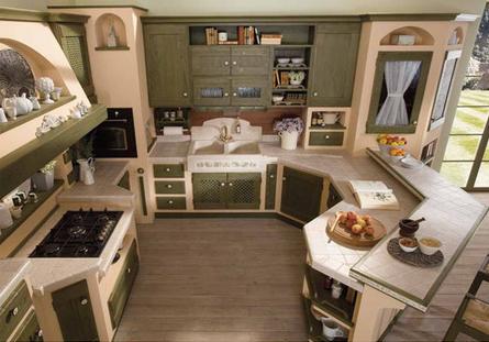 benvenuti in casa lops ritratti d'arredo: la cucina, un ambiente ... - Costruire Cucina