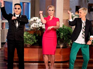 Britney Spears Gangnam Style