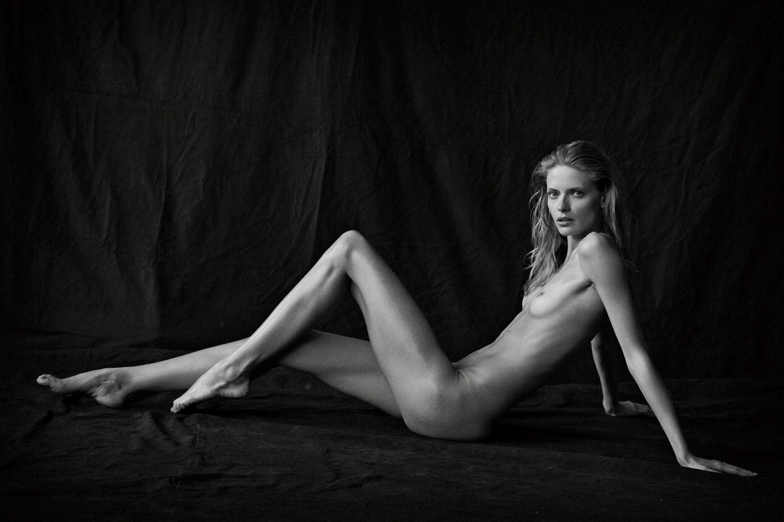 julia stegner by peter lindbergh