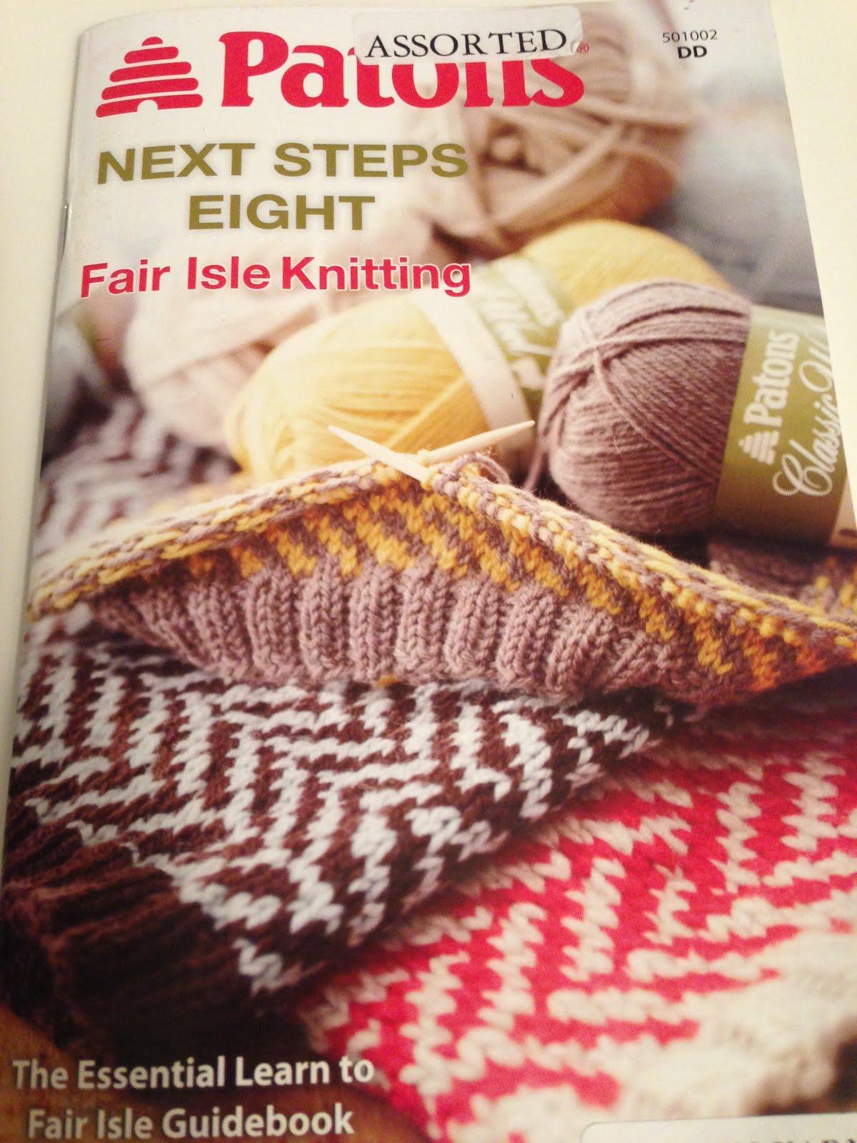 Wildflower Wool Knits: Next Steps - Fair Isle Knitting - 1st Pattern