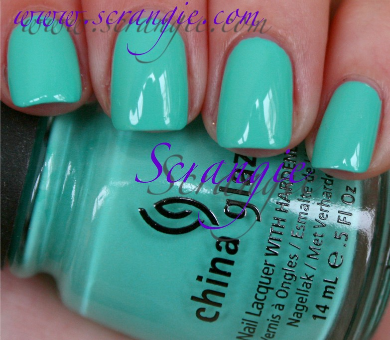 Scrangie: China Glaze Electropop Collection Spring 2012 Swatches and ...