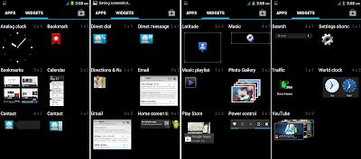 SKK Mobile Radiance Default Widgets