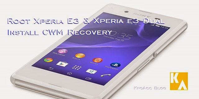 Root Sony Xperia E3 D2202 D2203 D2206 D2212 D2243