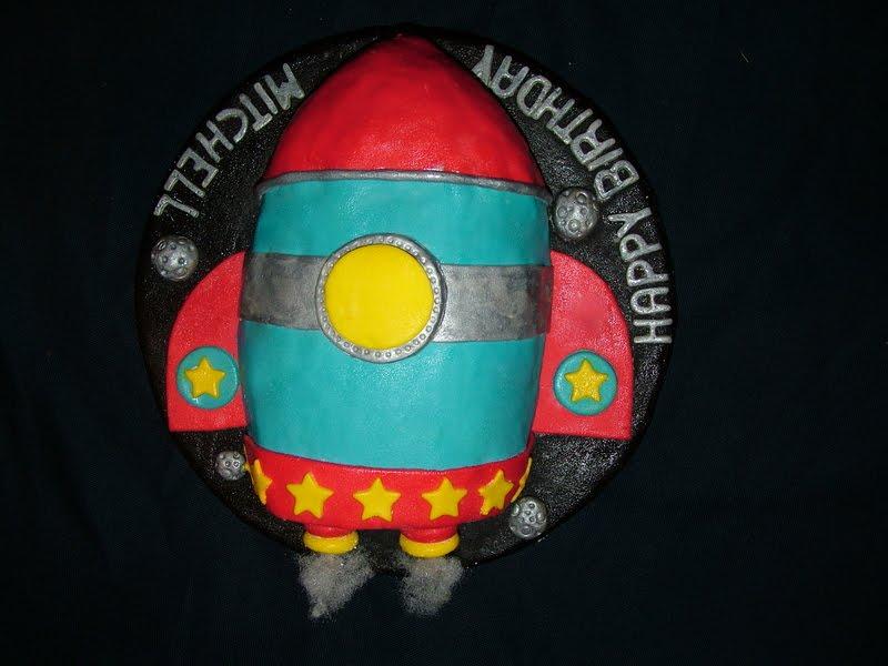 A Piece Of Cake Rocket Cake