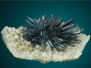 stibnite crystal