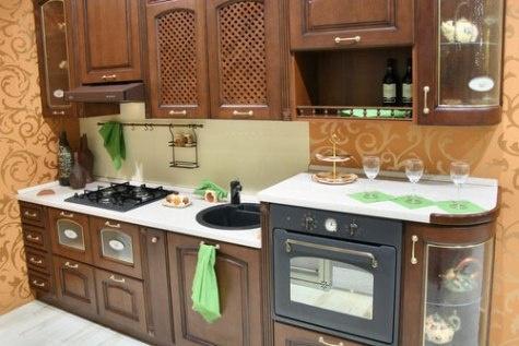 Imagenes de cocinas peque as c mo dise ar cocinas for Cocinas clasicas pequenas