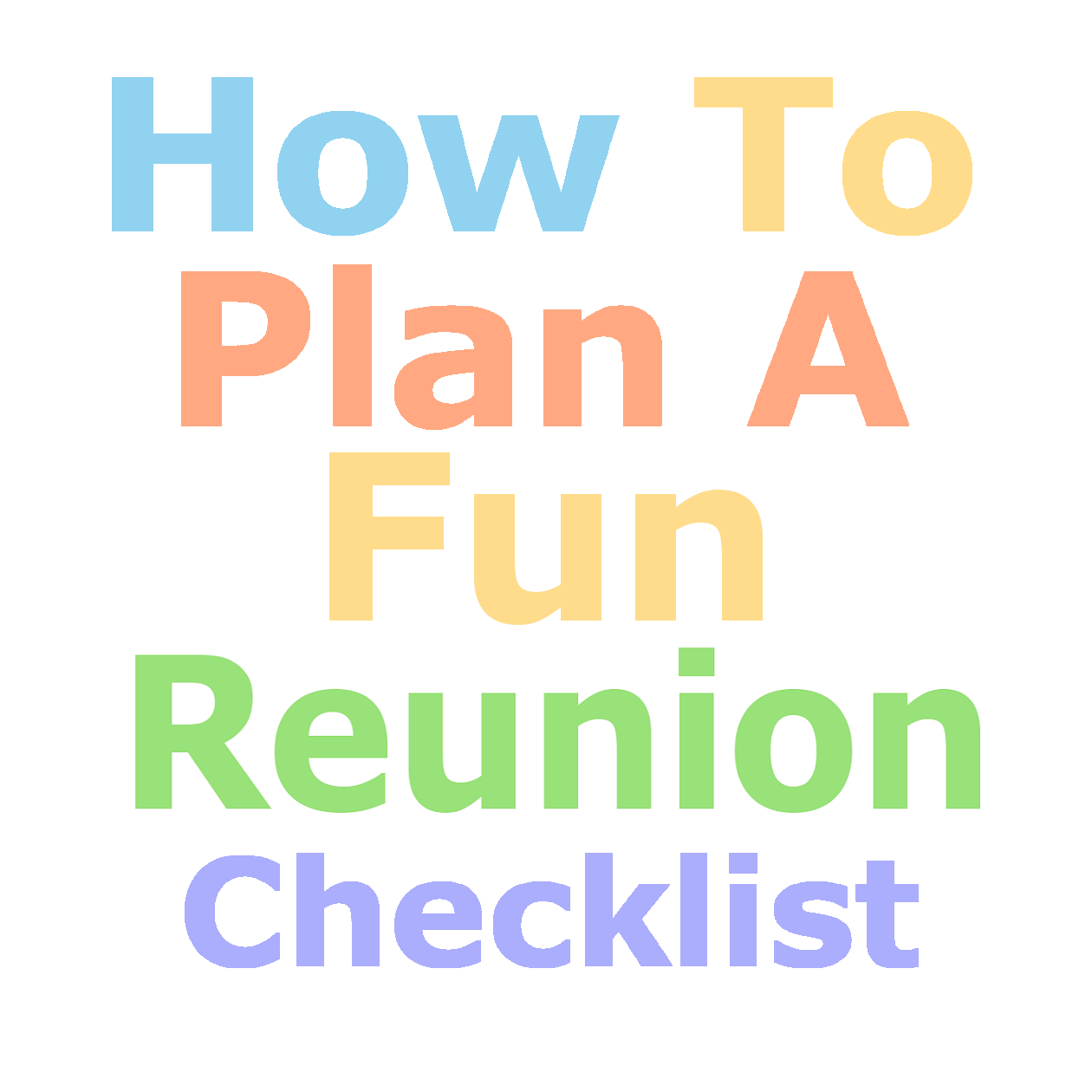 family reunion planning guides apps and books january 2015