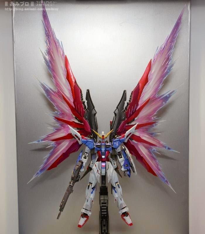 Metal Build Destiny Gundam Wings Of Light
