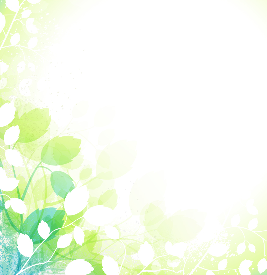 爽やかな春の背景 fresh spring vector background