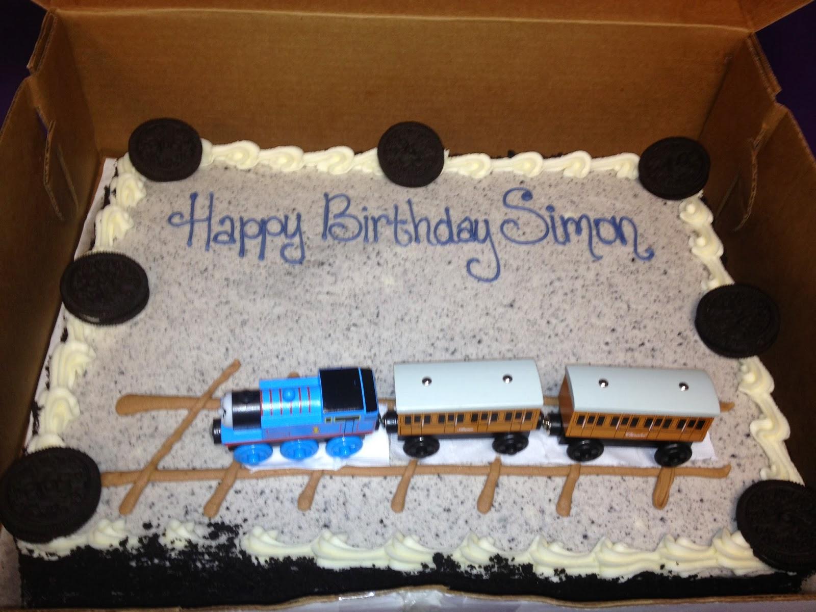 EVERYDAY ALLERGIC Happy Birthday Cake