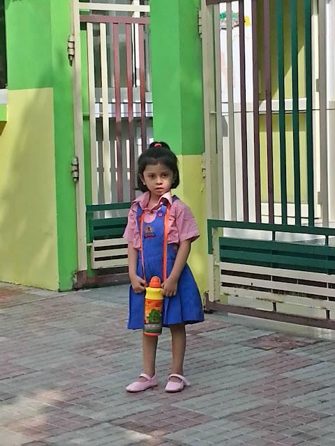 Mish starts School