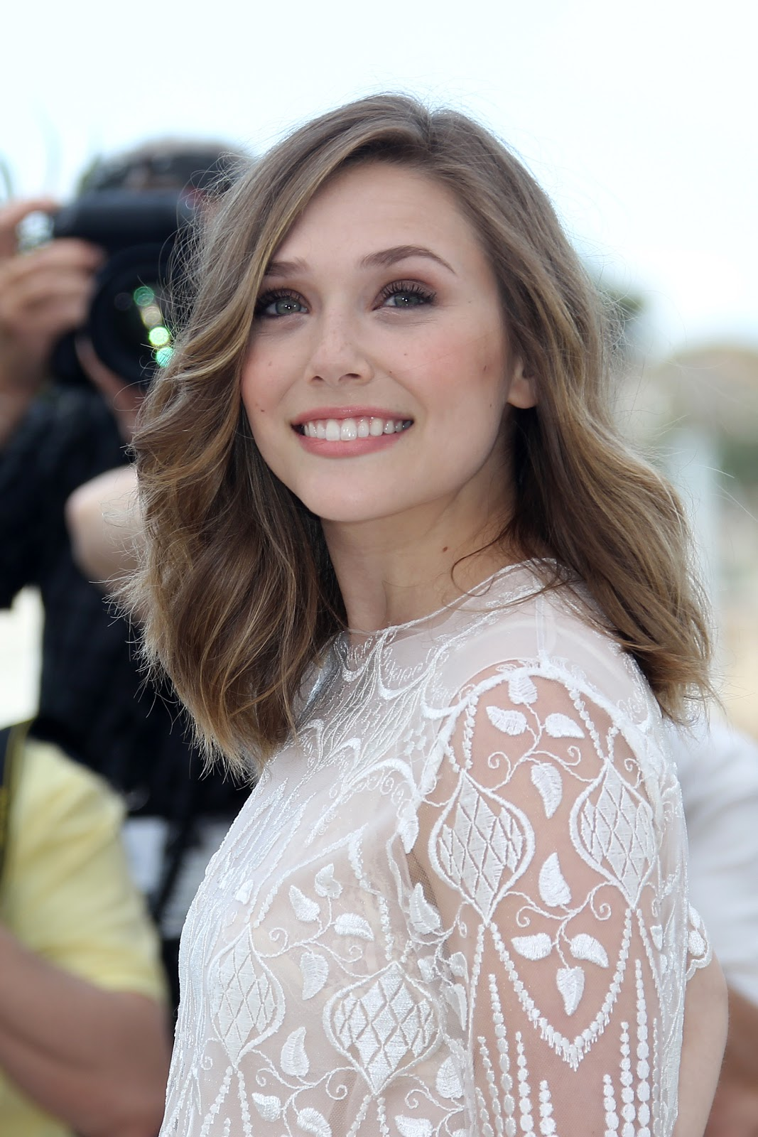 Captain America Civil War Actress Elizabeth Olsen At Cannes Film Festival