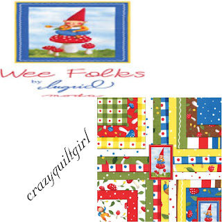 Moda WEE FOLKS Quilt Fabric by Ingrid Slyder