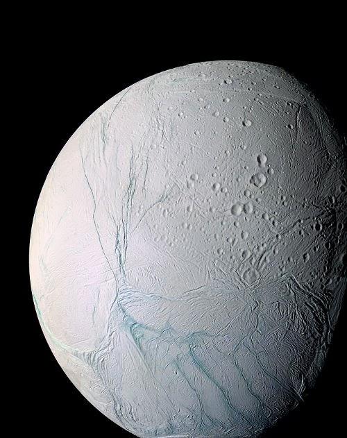 Bulan Enceladus, Bulan Charon Pluto