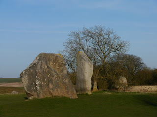  The Cove Stones within Avebury Stone Circle, western end of the Ridgeway National Trail