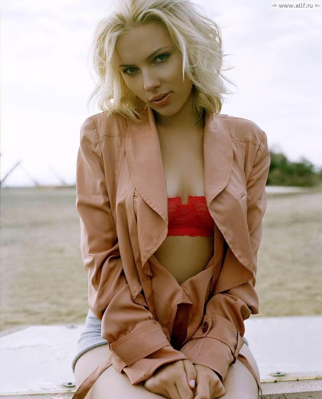 Vdeo: Se filtran fotos de Scarlett Johansson desnuda de