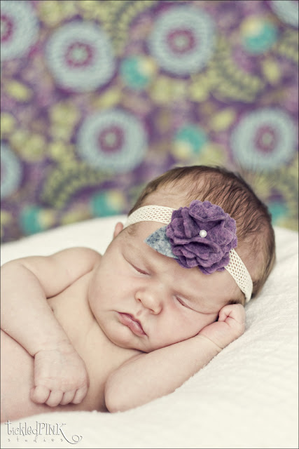 felt headband sew for little baby: tutorial