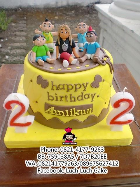 Kue Tart Upin Ipin Daerah Surabaya - Sidoarjo