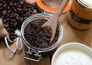 grasime de pe burta masca de cafea
