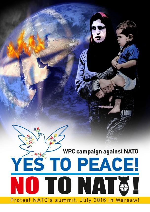 Αφίσα του Παγκοσμίου Συμβουλίου Ειρήνης(Π.Σ.Ε.)