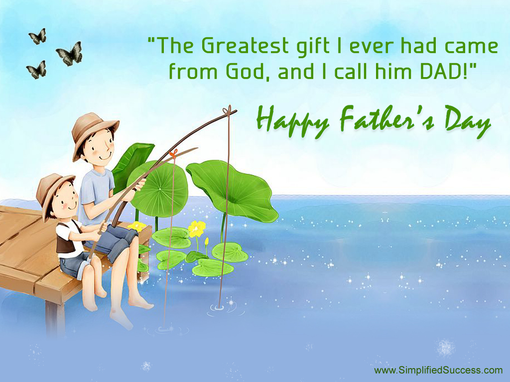 fathers day message for my husband