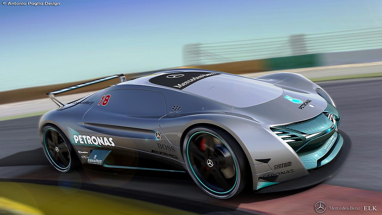Mercedes-Benz ELK Fits The Future EV Supercar Bill | Carscoops