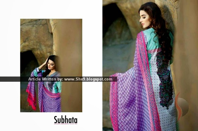 Subhata Summer 2015 Collection | Designer Embroidered
