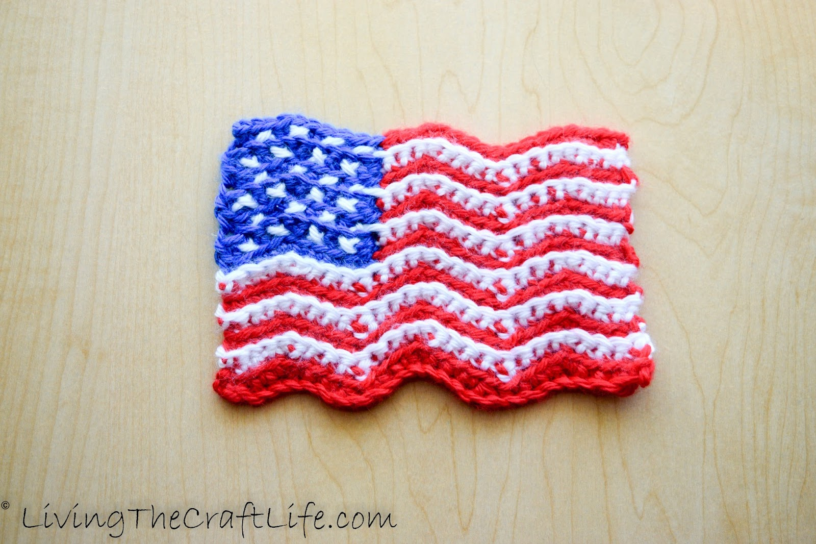 American Flag Crochet Pattern All Free Crafts - oukas.info