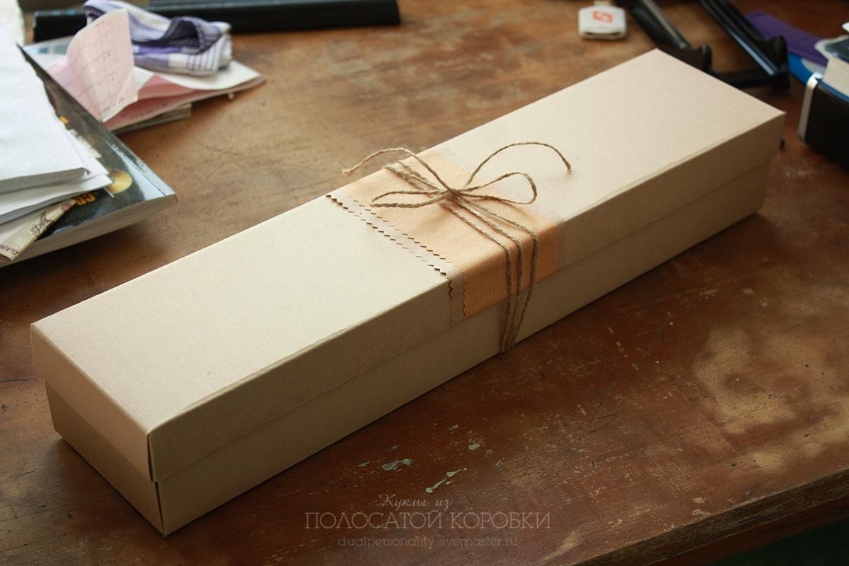 Упаковка для кукол. Коробка