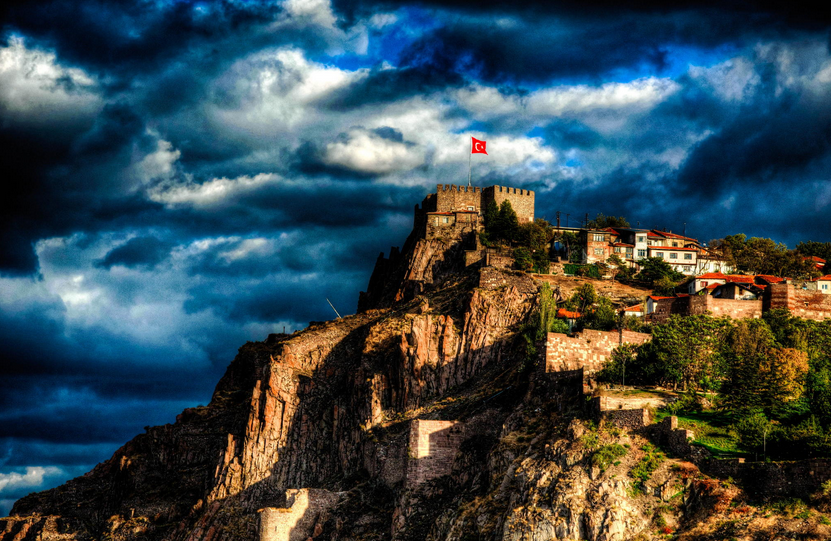 Blue Planet Heart: Ankara Castle
