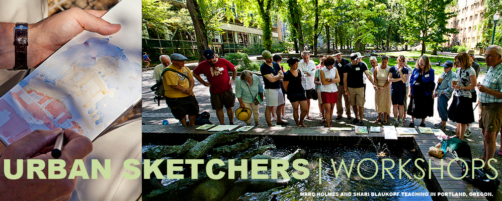 Urban Sketchers Workshops