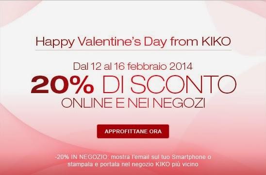 KIKO - Promozione San Valentino 2014