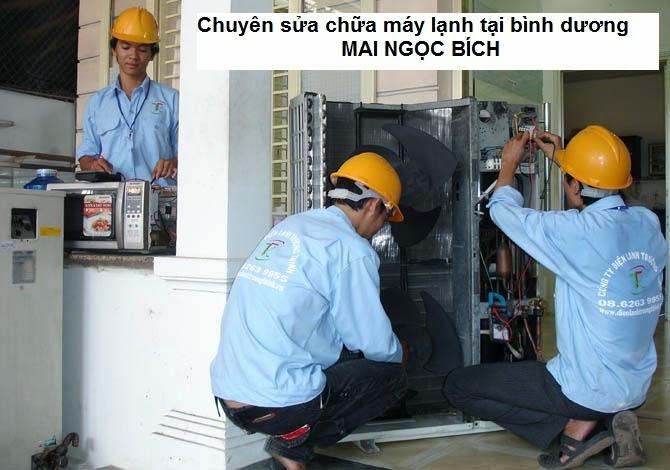 Chuyên sửa máy lạnh tại Bình Dương