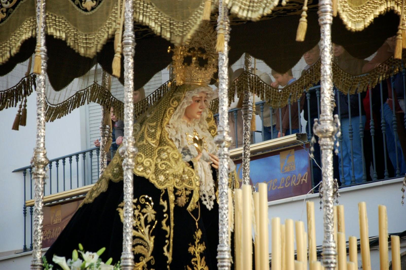 Horarios e itinerarios semana santa pedrera sevilla 2015 - Horario merkamueble sevilla ...