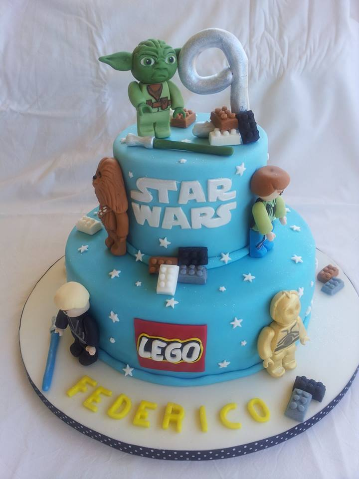 abbastanza Fattincasa: Cake Lego Star Wars QC27