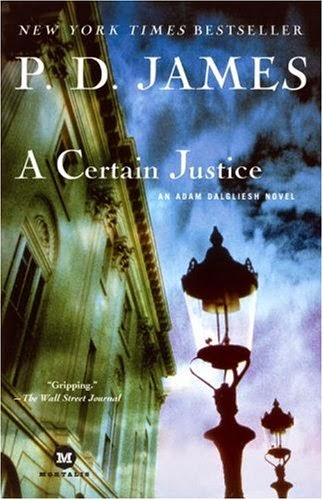 A certain justice (Published in 1997) - Authored by P D James - Murder of a lawyer